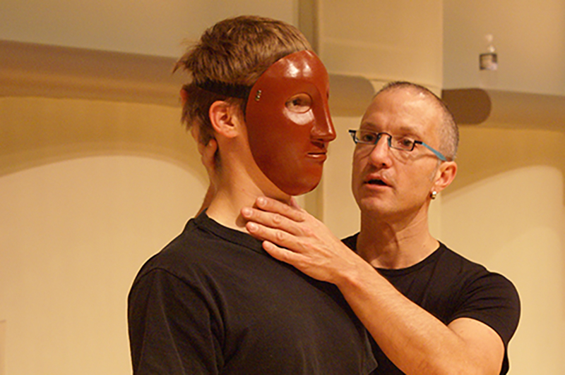 Jonathan Becker teaching a student