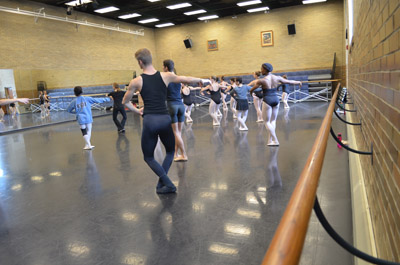 Korsgaard Dance Studio inside Ball Gym