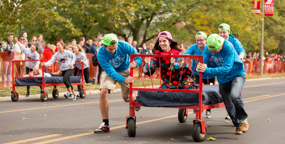 Bed Race