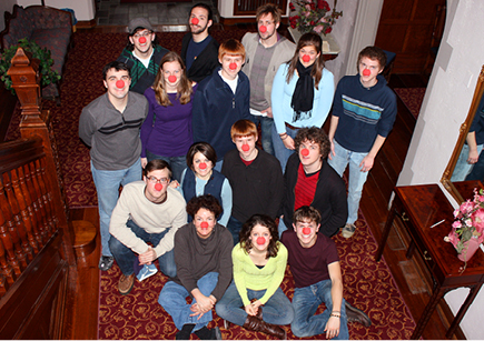 Circus in Winter Class Photo