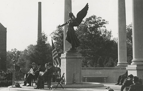 Dedication ceremony of Beneficence in 1937