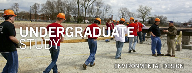 Undergraduate Environmental Design