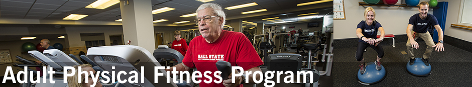 Adult Physical Fitness Program Banner