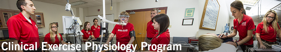 Clinical Exercise Physiology Program Banner