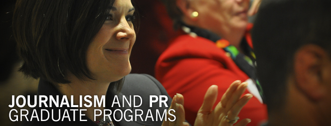 Journalism and PR Graduate Programs