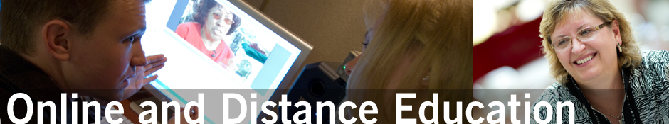 Online and Distance Education Banner