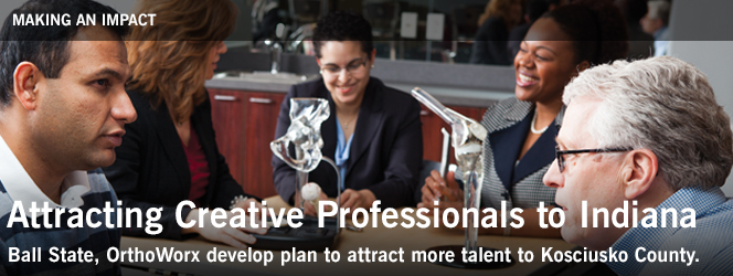 Attracting Creative Professionals to Indiana