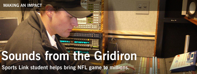 Sounds from the Gridiron