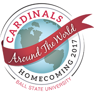 2017 homecoming logo: around the world