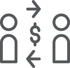 icon of a financial exchange