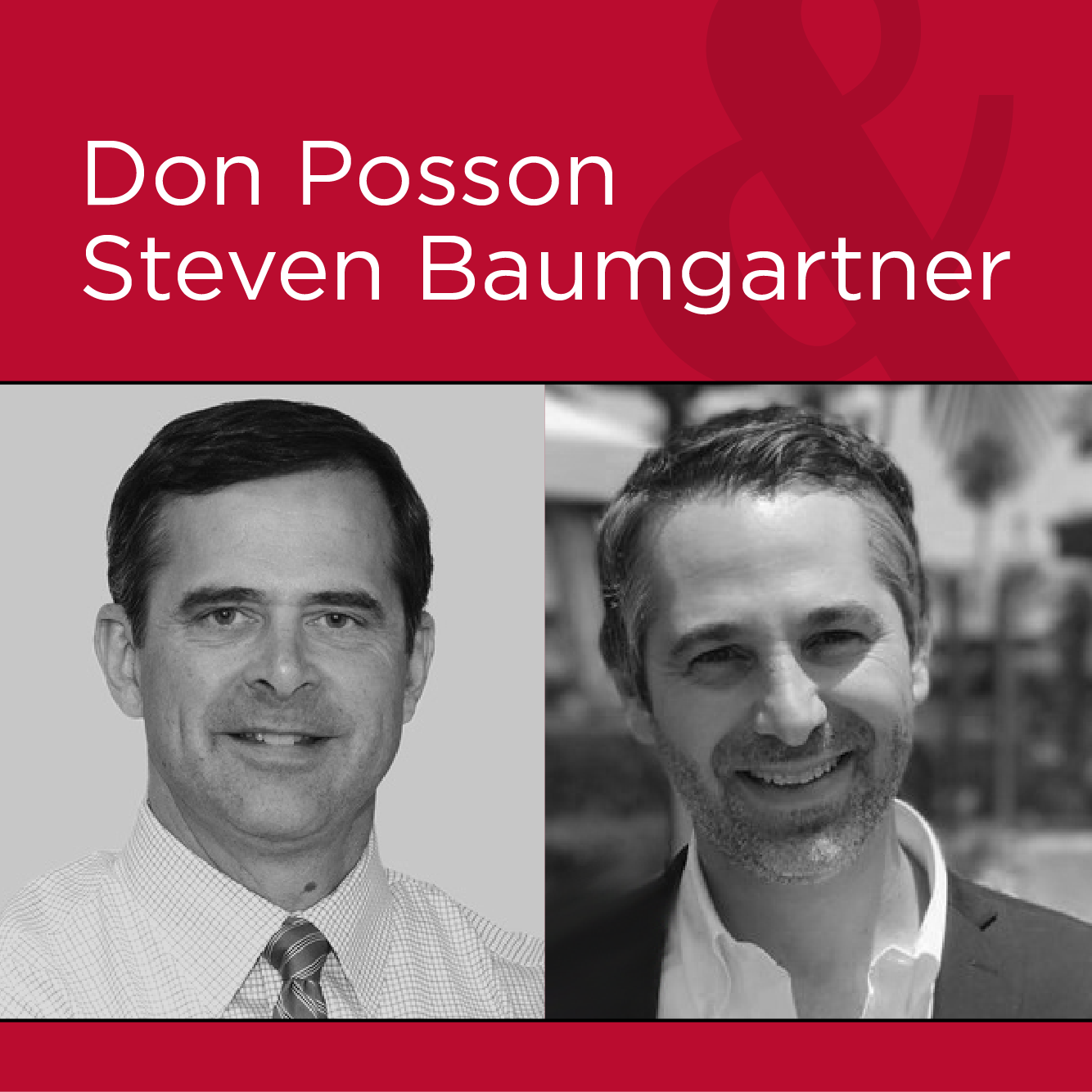 Image of Don Posson and Steven Baumgartner