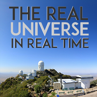 Image for The Real Universe in Real Time