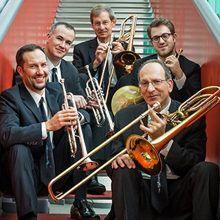 the American Brass Quintet - photo by Matt Dine
