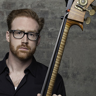 Brendan Kane with his bass
