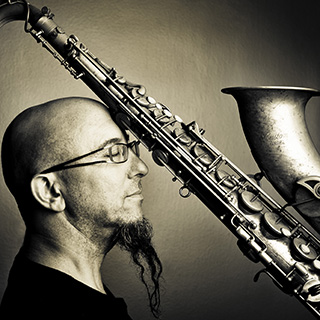 Saxophonist Jeff Coffin