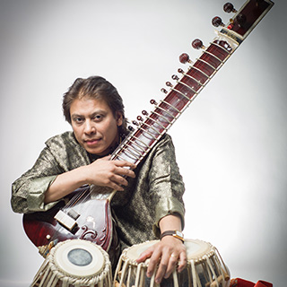 Indian classical musician Ustad Shafaat Khan