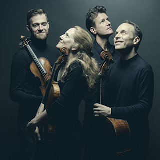 The St. Lawrence String Quartet, photo by Marco Borggreve