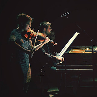 violin and piano duo Aether Eos