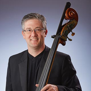 Double bassist Brian Smith