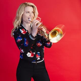 Trumpeter and vocalist Bria Skonberg