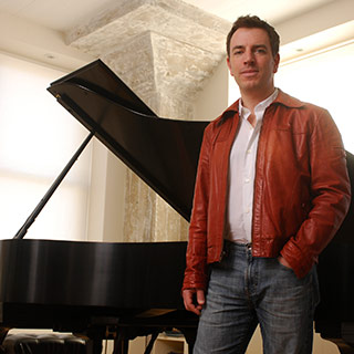 Jazz pianist Matthew Fries