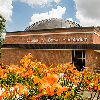 The Charles W. Brown Planetarium