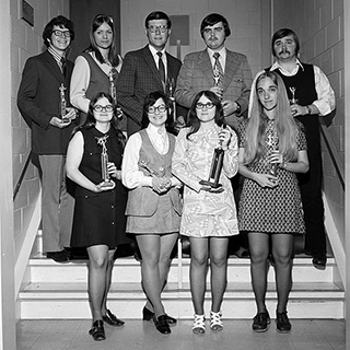 1972 Ball State National Speech Team Champions