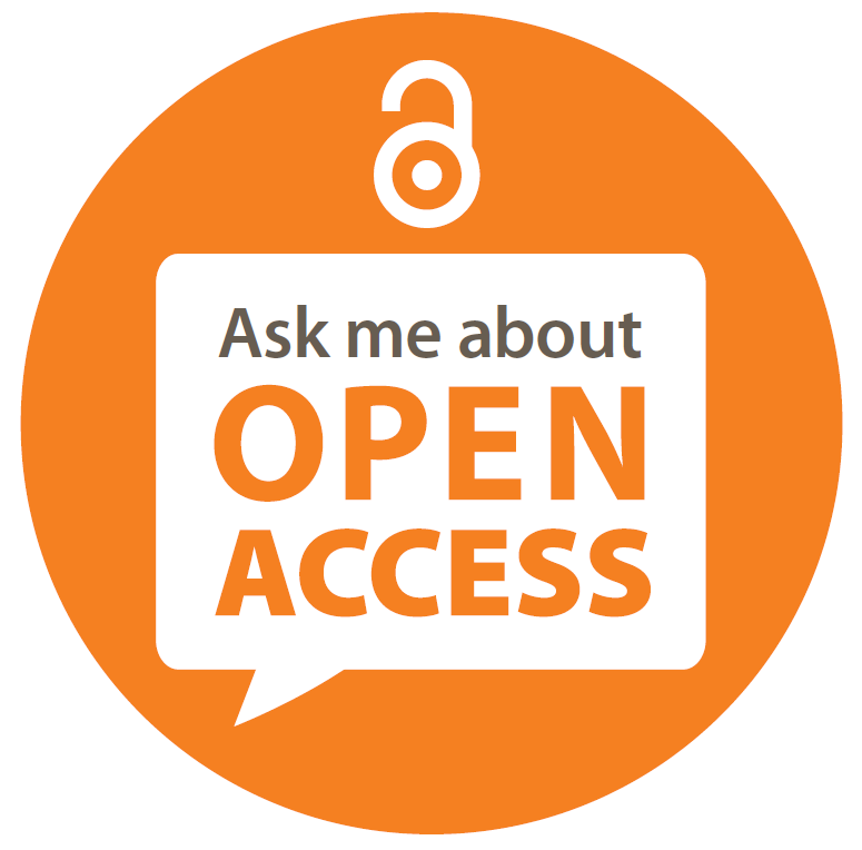 Ask me about open access graphic
