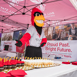 Charlie Cardinal at the Centennial Road Show.