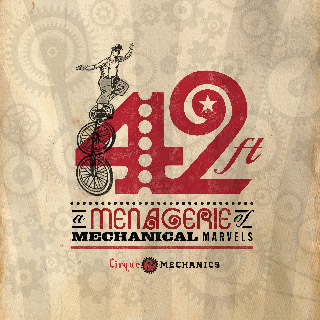 Cirque Mechanics 42 ft: A Menagerie of Mechanical Marvels