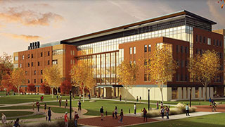 Foundational Sciences Building rendering