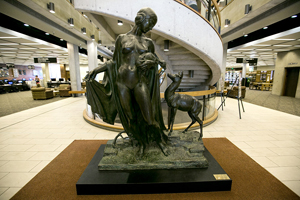 Naked Lady Statue