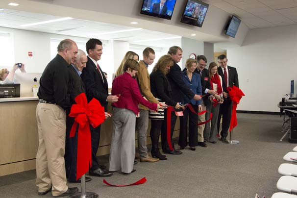 Unified Media Ribbon Cutting