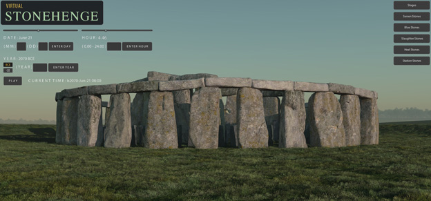"A virtual 3-D simulation of Stonehenge created by Ball State digital artists will be featured next year on an episode of ""The Universe"""