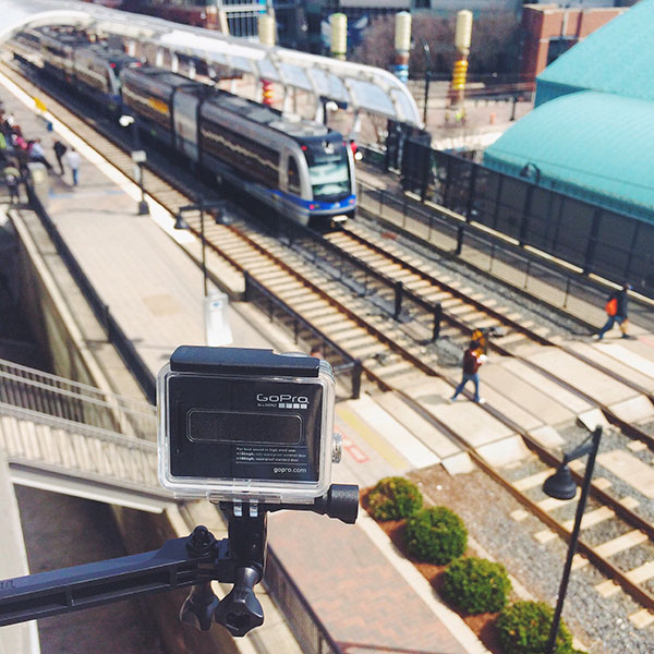 "Filming takes place for ""Indiana Crossrails: A Transit Choice"""
