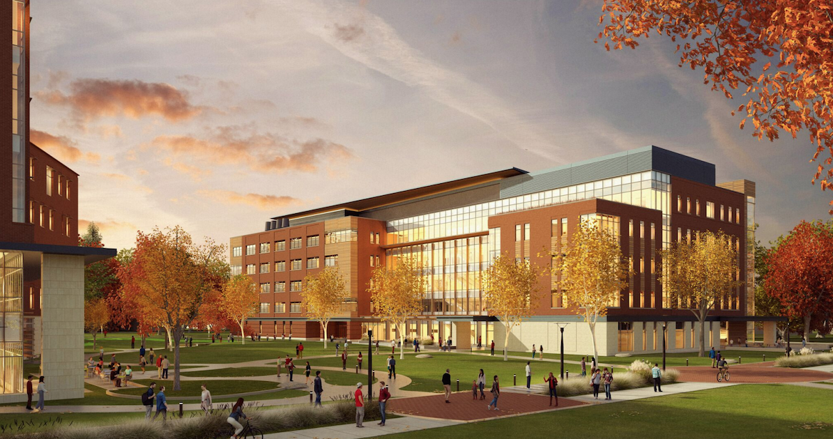 Photo of future Foundational Science Building